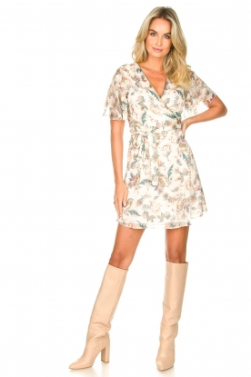 Look Floral wrapdress Olivia