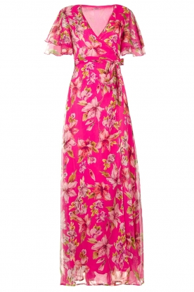 Liu Jo | Floral maxi dress Cindy | pink