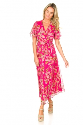 Look Floral maxi dress Cindy
