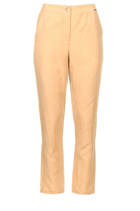 Liu Jo |  Safari trousers Pam | beige