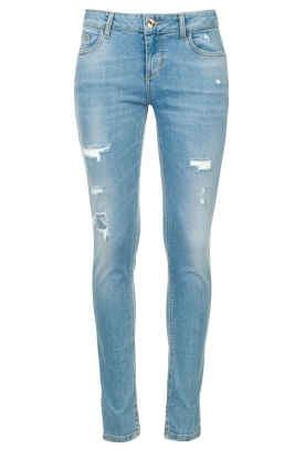 Liu Jo | Skinny jeans with ribbed details Xia | blue