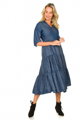 Look Denim midi-dress Jane