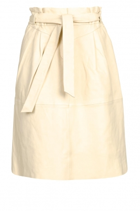 Dante 6 | Lamb leather skirt Aggy | natural