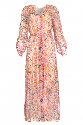 Dante 6 |  Floral maxi dress Zahava | pink