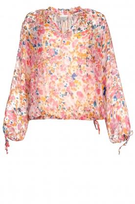 Dante 6 |  Floral blouse Ava | pink
