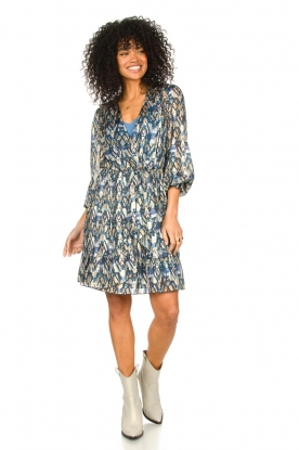 Look Dress with aztec print March