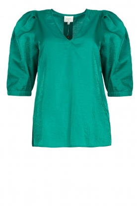 Dante 6 |  Top with puff sleeves Cammie | blue