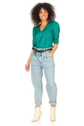 Look Top with puff sleeves Cammie