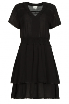 Dante 6 | Dress with broderie details Leisure | black