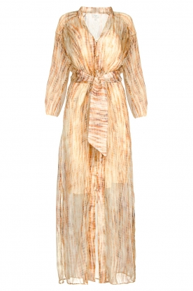 Dante 6 | Maxi dress with silk Nilsine | natural