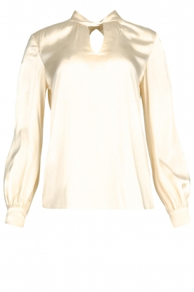Dante 6 | Silk blouse Izelle | natural