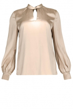 Dante 6 |  Silk blouse Izelle | grey