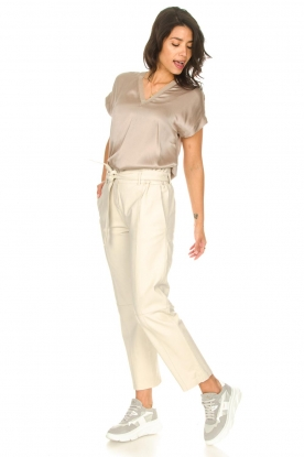 Look Silk stretch top Odette