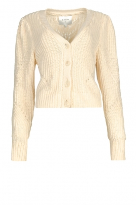 Dante 6 | Cardigan with cable pattern Everly | natural