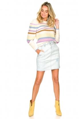Look Knitted alpaca sweater Celeste
