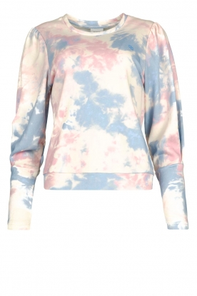 Dante 6 | Cotton sweater with tie dye effect Cloud | multi
