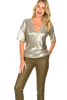 Dante 6 |  Metallic top Rae | silver