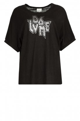 Dante 6 | T-shirt with text print Rock | black