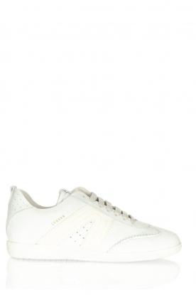 Copenhagen Studio's | Suede sneakers CPH413 | wit