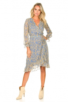Look Midi wrap dress Zowy