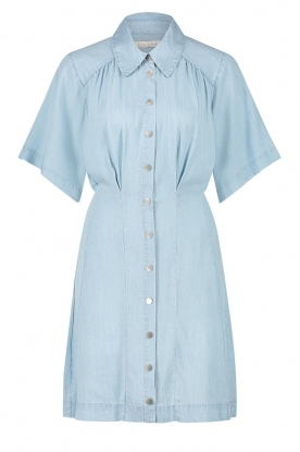 Freebird | Button-up dress Kae | blue