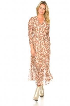 Freebird |  Floral maxi dress Josephine | natural