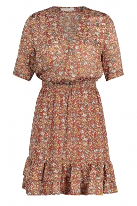 Freebird | Floral dress Emily | orange