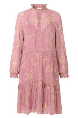 Second Female | Floral dress Mories | pink