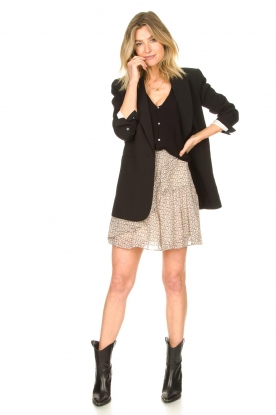 Look print midi skirt Lacing