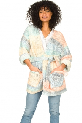 Second Female |  Oversized cardigan Elsa | multi