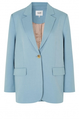 Second Female | Oversized blazer Siana | blauw