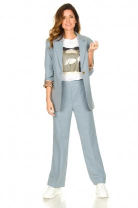 Second Female |  Trousers Sinia | blue