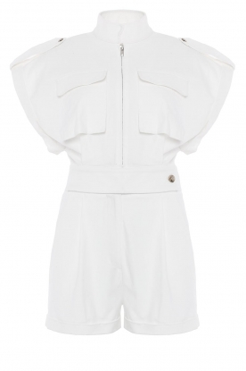 CHPTR S |  Tailored playsuit Breeze | white