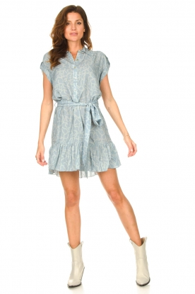 Look Dress with matching tie belt Maze