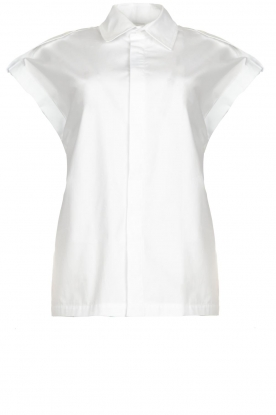 CHPTR S | Cotton blouse Stone | white