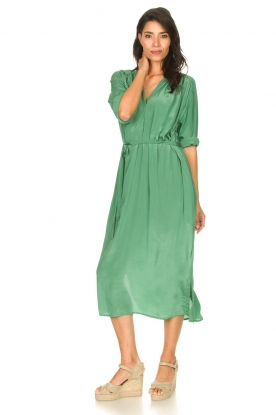 Look Maxi dress with waistbelt Penny