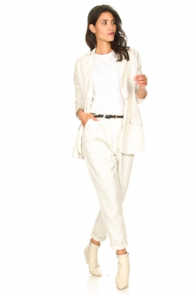 Rabens Saloner |  Loose trousers Raina | natural