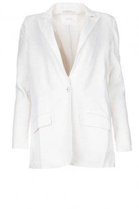 Rabens Saloner | Oversized blazer Alona | natural