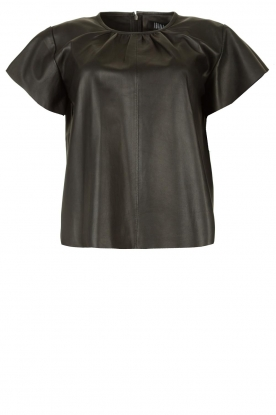 Ibana | Lamb leather top Talika | black
