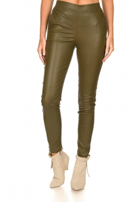 Look Lamb leather pants Lebon