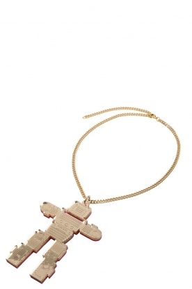 Rijkje Jewelry | Necklace Robot | gold