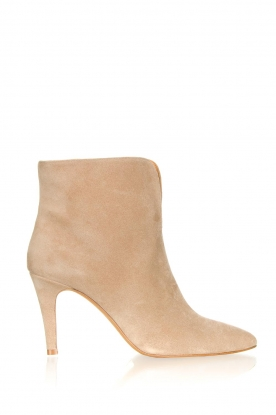 Toral |  Suede ankle boots  Joyce | beige