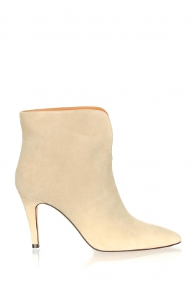 Toral |  Suede ankle boots  Joyce | natural