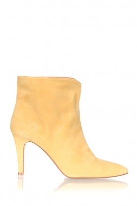 Toral |  Suede ankle boot Joyce | yellow
