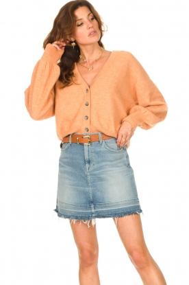 American Vintage |  Knitted cardigan Tidsburg | nude