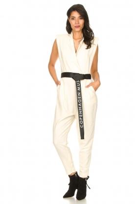 Look Jumpsuit with tie waist Debli