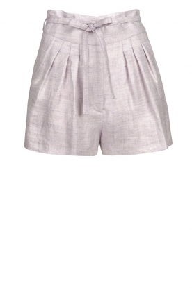 IRO |  Short with pleats Lafa | purple