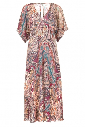 ba&sh | Maxi dress with paisley print Bee | pink
