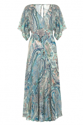 ba&sh | Maxi dress with paisley print Bee | blue