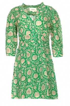 ba&sh | Dress with floral print Paz | green